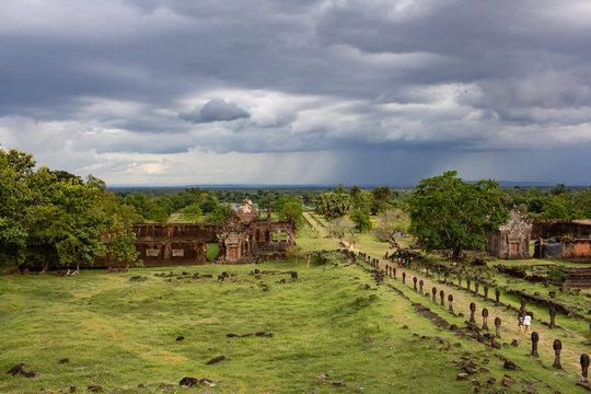 Wat Phu in Champassak Lao