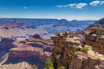Photo sur Aluminium Arizona Steep slopes of the Grand Canyon, Arizona, USA.