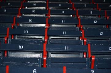 Fenway Park stadium seating - Boston