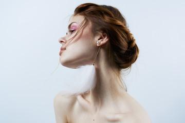 beautiful woman charm luxury model