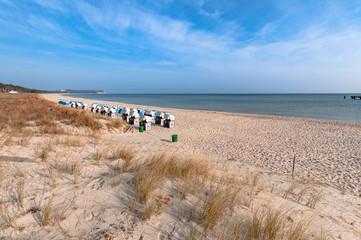 Ostereier in den Dünen, Nordstrand Göhren auf Rügen
