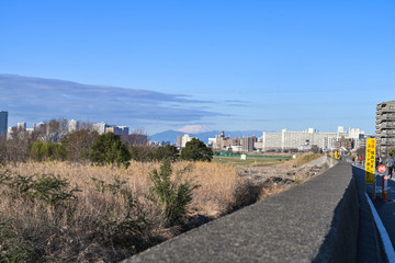 富士山 Wall mural