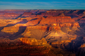 Grand Canyon National Park in the Evening Wall mural