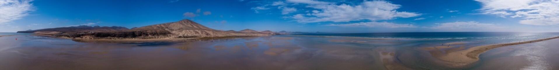 Türaufkleber Cappuccino Fuerteventura im Dezember