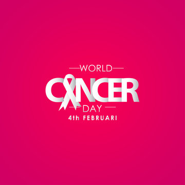 World Cancer Day For Celebrate Moment Background