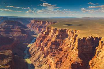 Deurstickers Canyon The Colorado River Through the Grand Canyon, Arizona, USA.