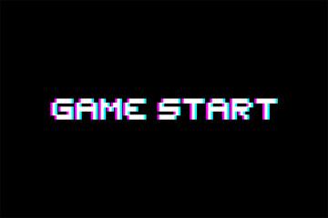 game start message