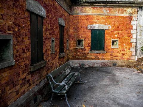 Abandoned military building New Zealand