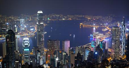 Wall Mural - Hong Kong cityscape