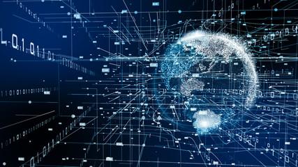 VR 5G AI 人工知能 フィンテック Fintech MaaS ICT ブロックチェーン 3D Wall mural