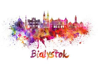 Obraz Abstrakcyjny Białystok - fototapety do salonu