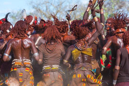 Hamer people, Omo valley, Naciones, Ethiopia, Africa