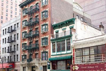 New York City, NY, United States - Buildings at Murray Hill neighborhood in Lexington Avenue, Manhattan.