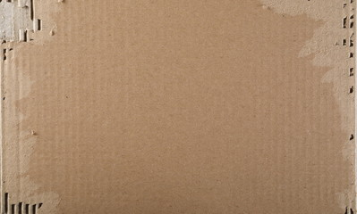 Torn cardboard background and texture