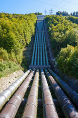 Pipeline of Walchensee Power Plant