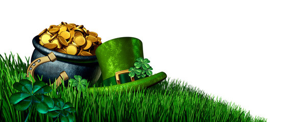 Saint Patricks Day Design Element