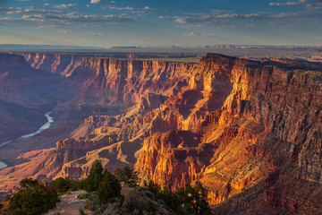 Photo sur cadre textile Arizona The Plateau the Grand Canyon, Arizona, USA.