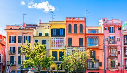 Architecture of Palma de Mallorca, Spain