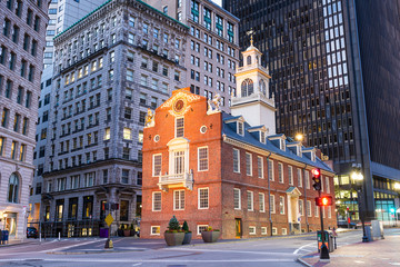 Fotomurales - Boston, Massachusetts, USA Old State House