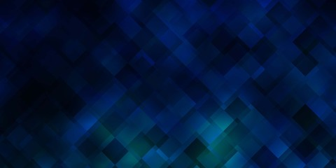 Dark BLUE vector texture in rectangular style.