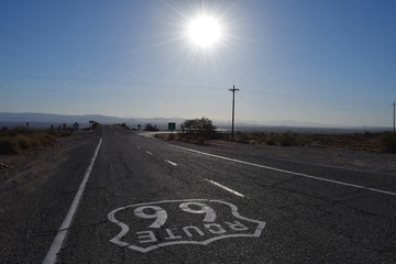 Fotobehang Route 66 The legendary Route 66