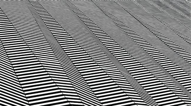 Japanese hi-tech waves, vector