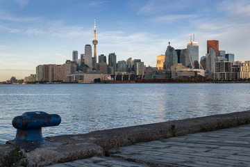 Fototapete - Toronto skyline at the morning