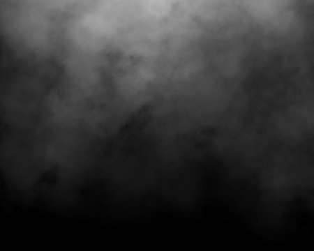 black and gray fog and smoke and mist effect on black background and Isolated white fog on the black background
