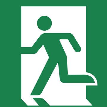 (SVG) public safety sign (pictogram) / Emergency exit
