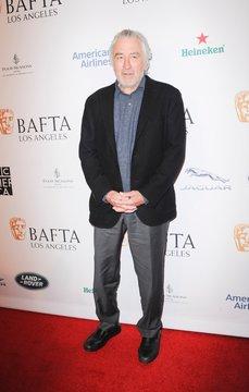 Robert De Niro at arrivals for BAFTA Tea Party
