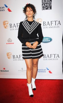 Taylor Russell at arrivals for BAFTA Tea Party