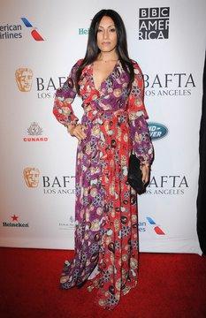 Tehmina Sunny at arrivals for BAFTA Tea Party