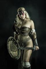 woman gladiator