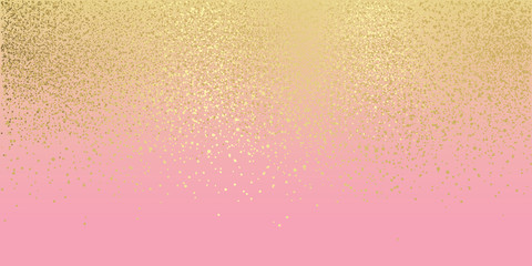 Pink and gold glitter background Fototapete