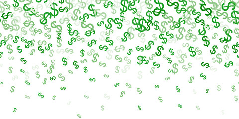 Dollar money currency symbol background