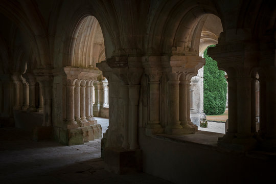 francia, Abbaye de Fontenay, bourgogne, borgogna, cistercensi, medioevo, gotico