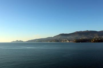 Fototapeta Promontorio di Portofino e golfo di Rapallo