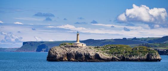 Isla de Mouro lighthouse