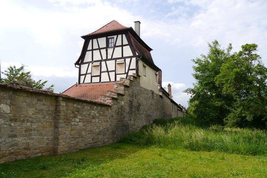 Stadtmauer in Iphofen
