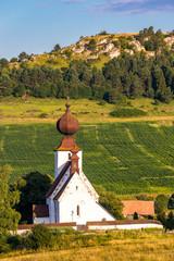 Fotomurales - church in Zehra, Spis region, Slovakia