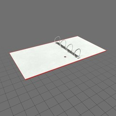 Open ring binder 1