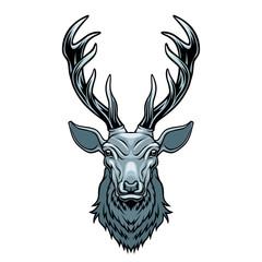 Deer head.