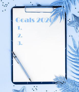 2020 New Year Goals,Plans,Action.Business motivation,inspiration concepts.