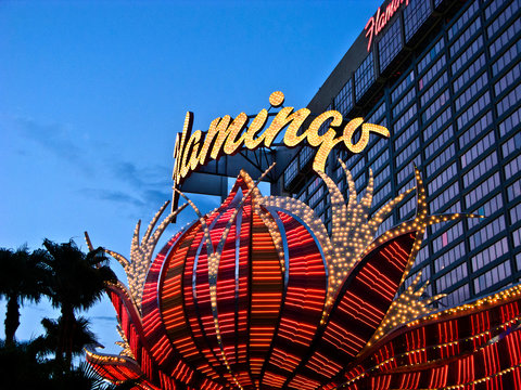 Flamingo hotel and gambling place on the Las Vegas Strip