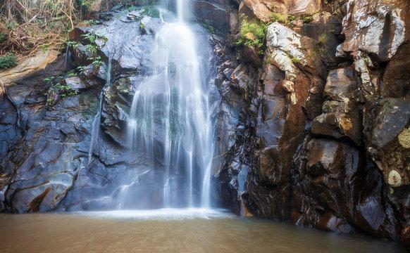 Cascada de Yelapa - Beautiful Tropical Waterfall in Yelapa, Jalisco, Mexico.