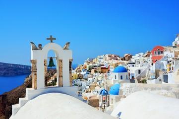 Photo sur Aluminium Santorini santorini island in greece