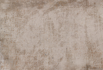 Wall Mural - brown cement background. Wall texture