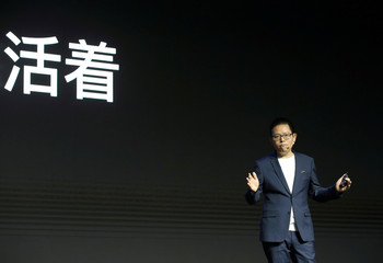 Realme founder and CEO Li  attends product launch event of Realme X50 5G in Beijing