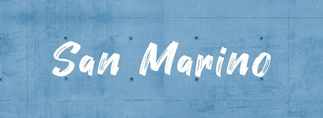 web Label Sticker San Marino Wall mural