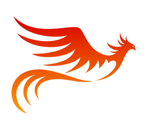 the Symbol of the Flying fiery bird.